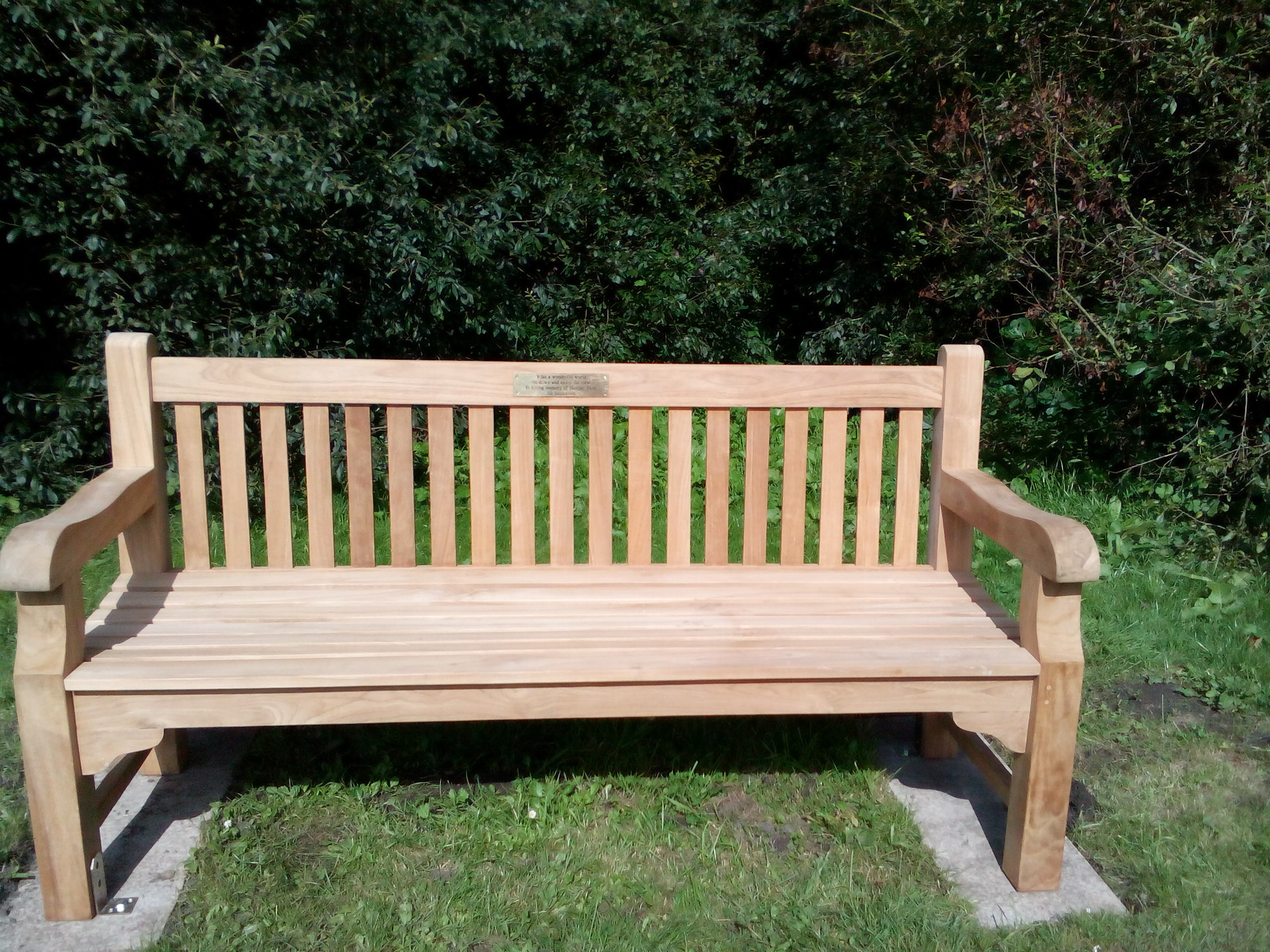My father's bench